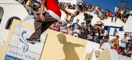 Red Bull Art of Motion Parkour event Santorini 2012, Main Event.